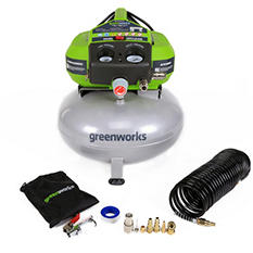 GreenWorks 41522 6-Gallon Corded Air Compressor