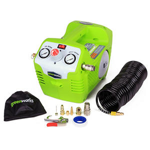 GreenWorks 4100102 G-MAX 40V 115PSI Cordless Air Compressor  - Battery and Charger Not Included