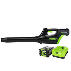 GreenWorks 80V Cordless Jet Blower w/ (1) 2.0AH Battery & Charger