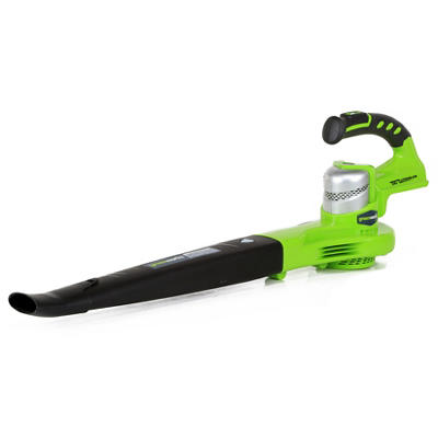 GreenWorks 2400202 G-24 24V 130MPH Cordless Sweeper
