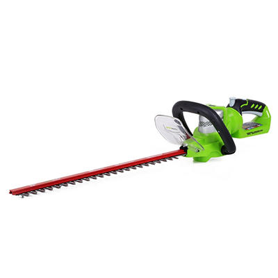 """GreenWorks 2200302 G-24 24V 22"""" Cordless Hedge Trimmer  - Battery and Charger Not Included"""