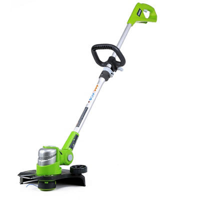 """GreenWorks 2100302 G-24 24V 12"""" Cordless String Trimmer  - Battery and Charger Not Included"""