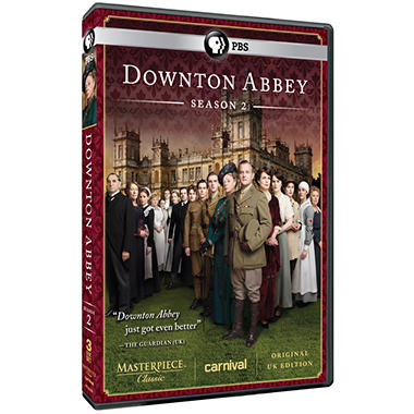 Downton Abbey: Season 2 (DVD)(Original UK Unedited Edition)