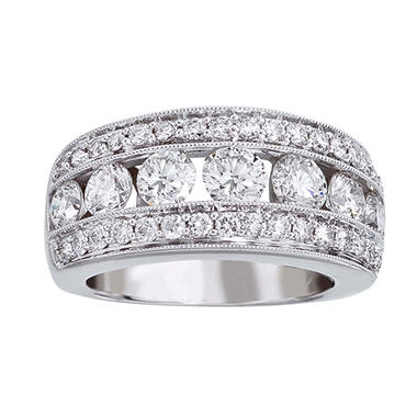 .96TW DIA 14KW RING ROUND DIAMOND BAND