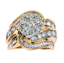 Click here for 4.00tw Diamond Ring in14KTT 7 prices