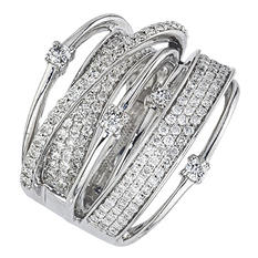 1.48 ct. t.w. Diamond Ring in 14K White Gold (I, I1)