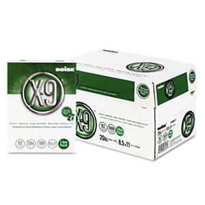 Boise - X9 Multipurpose Paper, 20lb, 92 Bright, 3 Hole Punched - Case