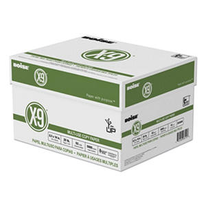 Boise - X-9 Copy Paper, 92 Brightness, 8-1/2 x 14, White - 5000 Sheets/Carton