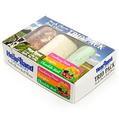 Heartland Creamery Holiday Goat Cheese Log Trio Pack