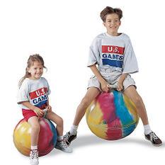 """Tie Dye Fun Hopper - 24"""""""