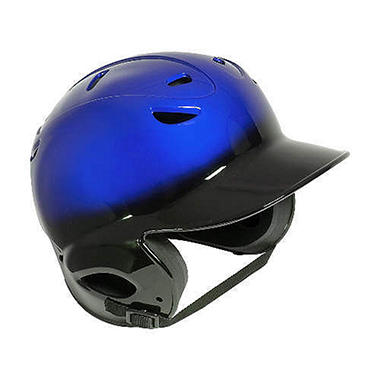 Two-Tone Vented Bat Helmet- Black/Royal - Youth