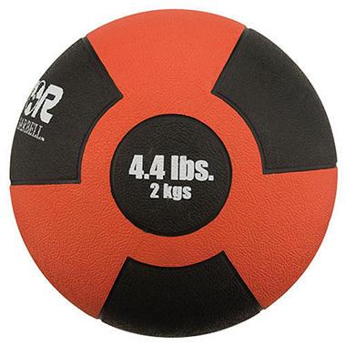 Reactor Rubber Medicine Ball- 4.4 lbs./2 kg
