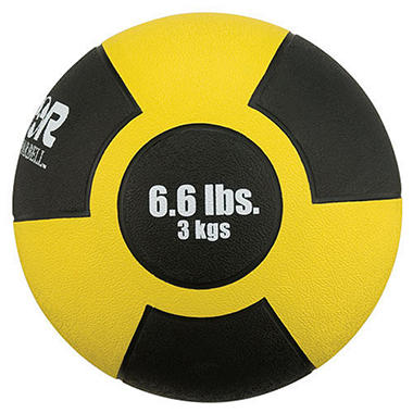 Reactor Rubber Medicine Ball 6.6 lbs./3 kg