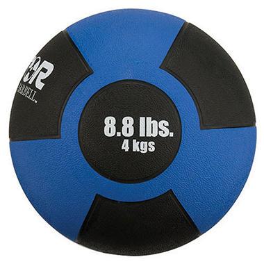 Reactor Rubber Medicine Ball - 8.8 lbs./4kg