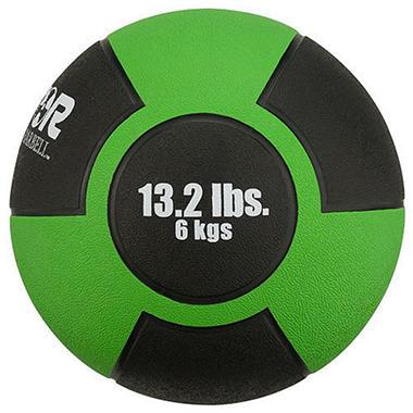 Reactor Rubber Medicine Ball- 13.2 lbs./6 kg