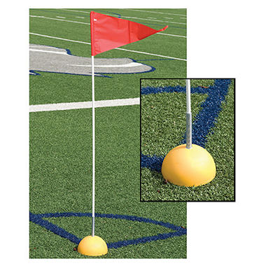 Spring-Loaded Corner Flags - 4 pk.