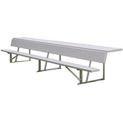 Alumagoal 7.5' Player's Bench with Shelf