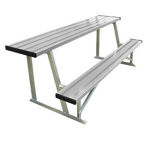 Alumagoal 7.5' Scorer's Table With Bench