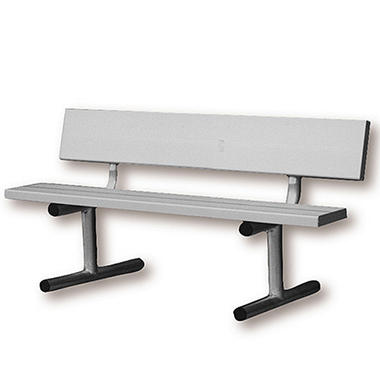 4 aluminum court bench sam s club