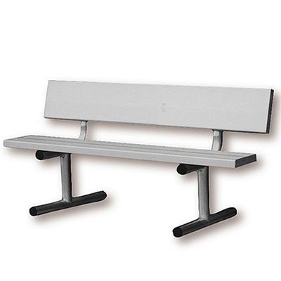 4' Aluminum Court Bench