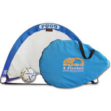 PUGG 4' Portable Training Set - 2 Goals - 1 Bag