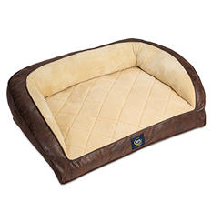 "Serta Perfect Sleeper Oversized Couch Pet Bed, 39"" x 29"""