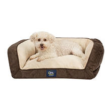 "Serta Perfect Sleeper Memory Foam Blend Couch Pet Bed, 25"" x 21"" x 8.5"" (Choose your Color)"