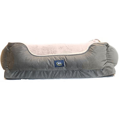 Serta Perfect Sleeper Orthopedic Comfy Cuddler Pet Bed