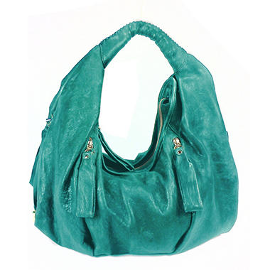 Junior Drake Gabi Leather Handbag - Turquoise