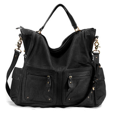 Junior Drake Angelica Tote - Black