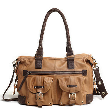 Junior Drake Ash Satchel -  Tan