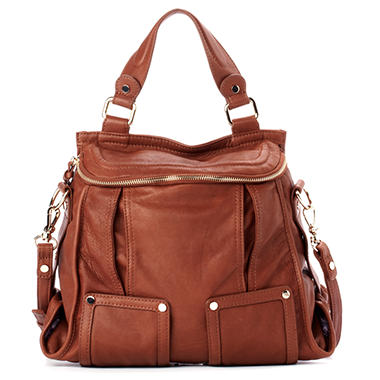 Junior Drake Bernadette Satchel - Chocolate