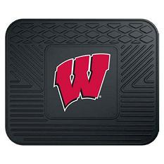 "NCAA Wisconsin Utility Mat - 14"" x 17"""