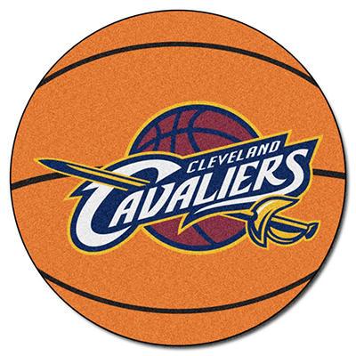 """NBA Cleveland Cavaliers Basketball Mat - 27"""" Diameter"""