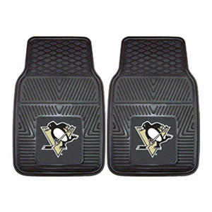 NHL - Pittsburgh Penguins 2-pc Vinyl Car Mat Set