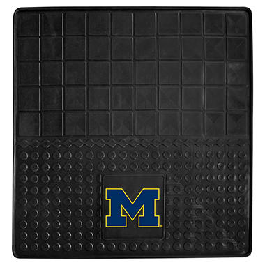 "NCAA University of Michigan Heavy-Duty Vinyl Cargo Mat - 31"" x 31"""