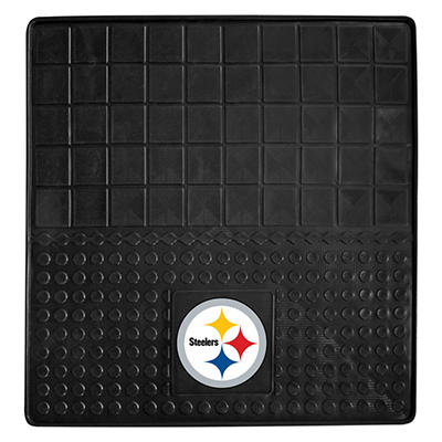 "NFL Pittsburgh Steelers Heavy-Duty Vinyl Cargo Mat - 31"" x 31"""