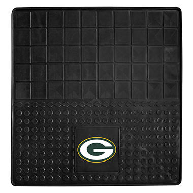 "NFL Green Bay Packers Heavy Duty Vinyl Cargo Mat 31"" x  31"""