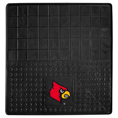 "NCAA University of Louisville Heavy-Duty Vinyl Cargo Mat - 31"" x 31"""