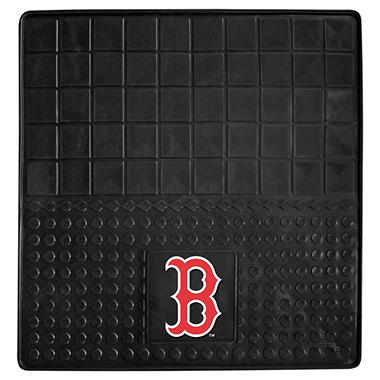 "MLB Boston Red Sox Heavy-Duty Vinyl Cargo Mat - 31"" x  31"""