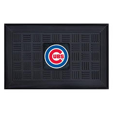 "MLB Chicago Cubs Medallion Door Mat - 19"" x 30"""