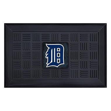 MLB Detroit Tigers Medallion Door Mat - 19