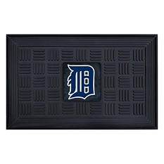 "MLB Detroit Tigers Medallion Door Mat - 19"" x 30"""