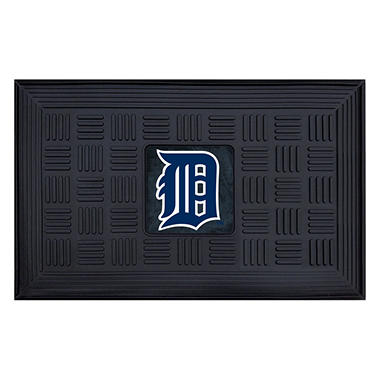 MLB Detroit Tigers Medallion Door Mat - 19