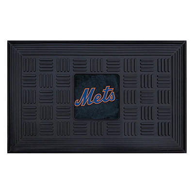 "MLB New York Mets Medallion Door Mat - 19"" x 30"""