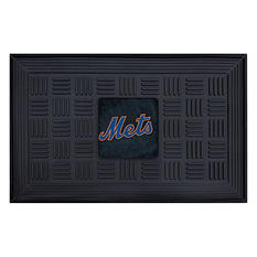 "MLB New York Mets Medallion Door Mat - 19"" x 30"""