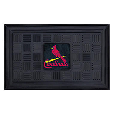 "MLB St. Louis Cardinals Medallion Door Mat - 19"" x 30"""