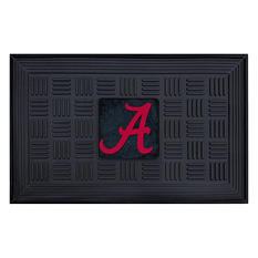 "NCAA University of Alabama Medallion Door Mat - 19"" x 30"""
