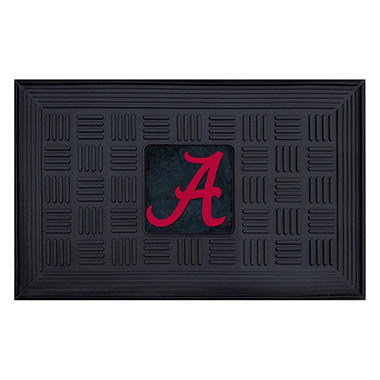 NCAA University of Alabama Medallion Door Mat - 19
