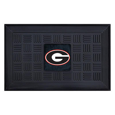 "NCAA University of Georgia Medallion Door Mat - 19"" x 30"""
